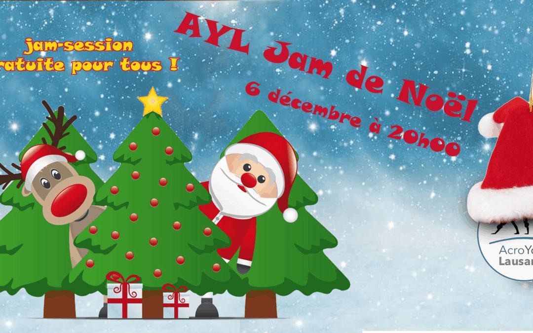 Jam de Noël AYL à Lausanne