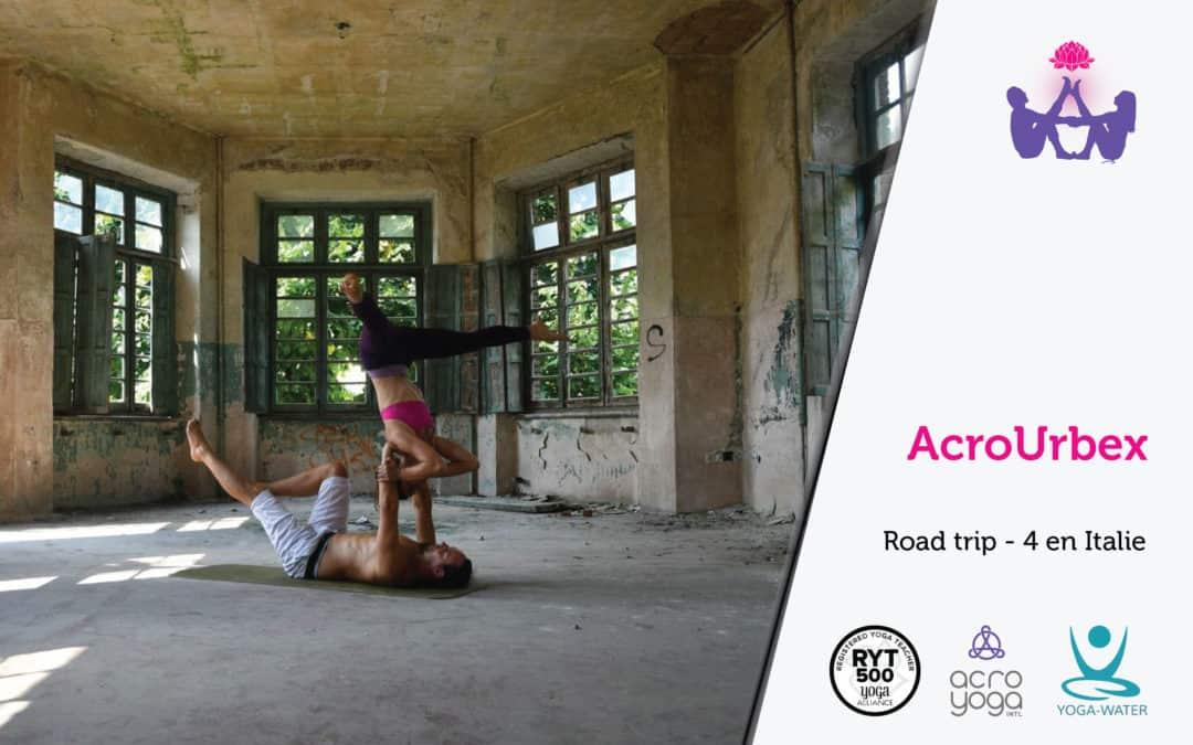 AcroYoga en urbex – Road trip 4