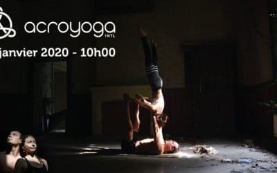 Workshop d'AcroYoga 26 janvier